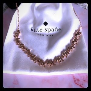 NWT Kate Spade Things We Love Rose Gold Necklace🐘